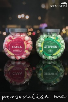 Personalised Prosecco & G&T Sweet Jar Set By Great Gifts