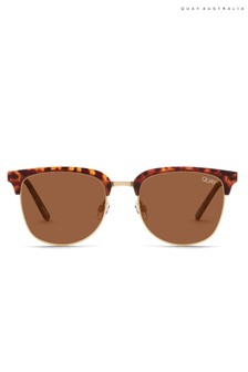 Quay Australia Evasive Round Sunglasses