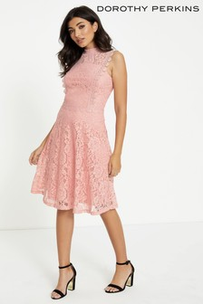 Dorothy Perkins Tallulah Lace Skater Dress