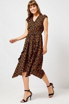 Dorothy Perkins Floral Midi Dress