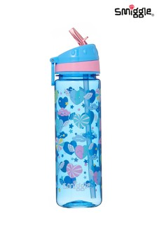 Smiggle Deja Vu Drink Bottle With Flip Top Spout