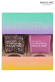 Nails Inc Blame It On The Rainbow Duo