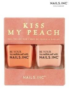 Nails INC Kiss My Peach Duo