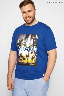 BadRhino Graphic Print T-Shirt