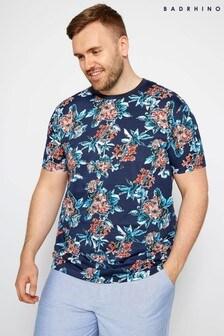 BadRhino Floral Print T-Shirt