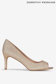 Dorothy Perkins Peep Toe Court Shoes