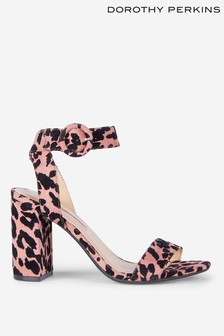 Dorothy Perkins Animal Print Sandals