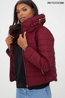 PrettyLittleThing Mara Padded Coat