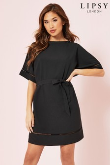 Lipsy Kimono Tie Shift Dress