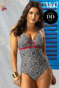 Pour Moi Starboard Underwired Halter Swimsuit