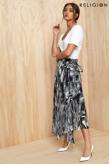 Religion Titan Midi Skirt