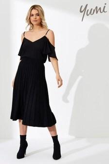 Yumi Knit Pleated Skirt