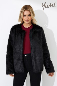Yumi Heavy Weight Fur Jacket