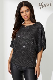 Yumi Relaxed Sequin Top