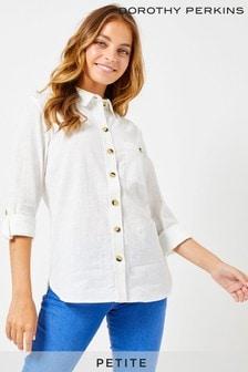 Dorothy Perkins Petite Slub Shirt