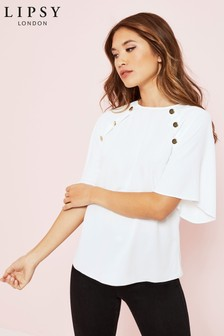 Lipsy Button Detail Tee