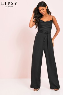 Lipsy Cowl Neck Jumpsuit