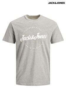חולצת טי שלJack & Jones עם הדפס לוגו