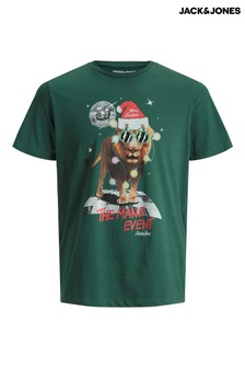 Jack & Jones Christmas Printed T-Shirt
