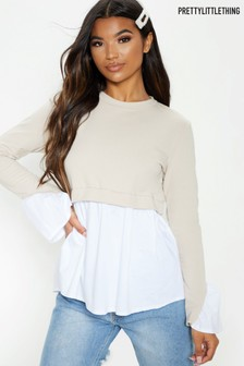 PrettyLittleThing Peplum Sweater