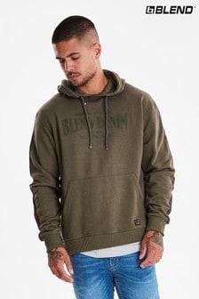 Blend Taped Hooded Sweatshirt