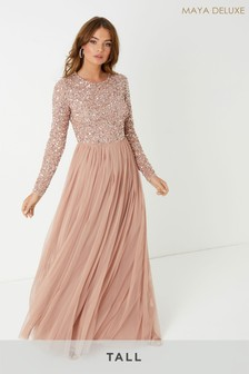 Maya Tall Sequin Maxi Dress