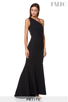 Jarlo Petite Sheer Lace Maxi Dress
