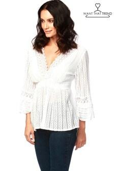 Want That Trend Crochet Top