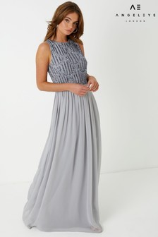 Angeleye Embellished Sleeveless Maxi Dress