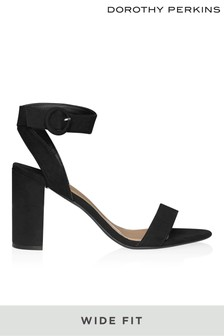 Dorothy Perkins Wide Fit Block Heels
