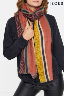 Pieces Stripe Scarf