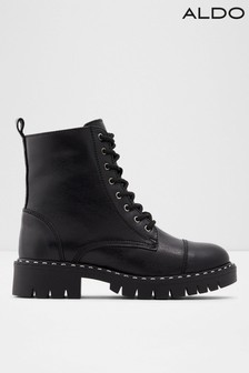 Aldo Leather Lace Up Boot