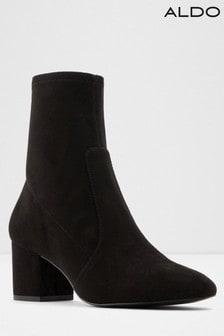 Aldo Block Heel Sock Boots