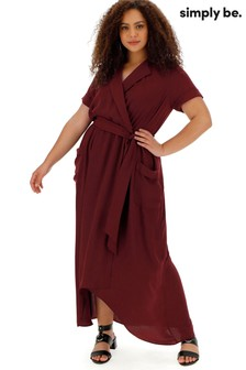 Simply Be High Low Hem Utlity Dress