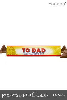 Personalised Toblerone 360g Bar (Exclusive Father's Day Design) By YooDoo