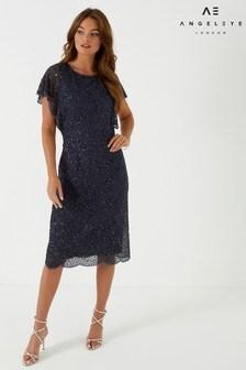 Angeleye Embellished Midi Dress