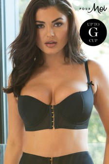 Pour Moi Hook Up Underwired Bra E+