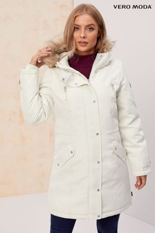 Vero Moda Parka Faux Fur Lined Hoody