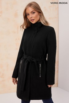 Vero Moda High Neck Smart Coat