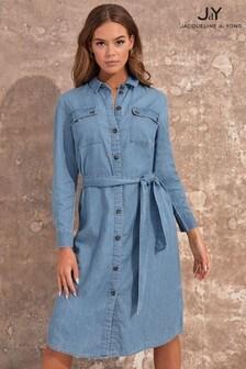 JDY Chambray Shirt Dress
