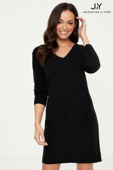JDY V neck Knit Dress