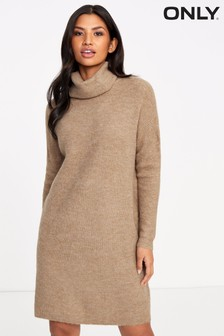 Only Roll Neck Knit Dress