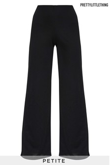 PrettyLittleThing Petite Wide Leg Trousers