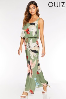 Quiz Printed Maxi Dress
