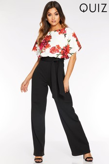 world-wide free shipping discount for sale detailed images Quiz Jumpsuits & playsuits | Ruffle & Wrap Jumpsuits | Next UK