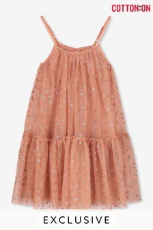 Cotton On Kids Iggy Overlay Dress