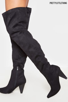 PrettyLittleThing Over The Knee Slouch Boot
