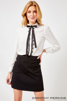 Dorothy Perkins Romantic Tie Shirt