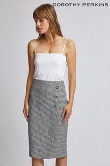 Dorothy Perkins Mini Dogtooth Pencil Skirt