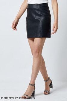 Dorothy Perkins PU Mini Skirt